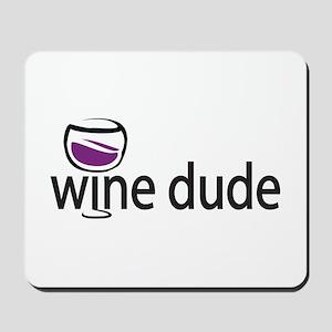 Wine Man Mousepad