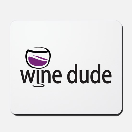 Wine Man Mousepad