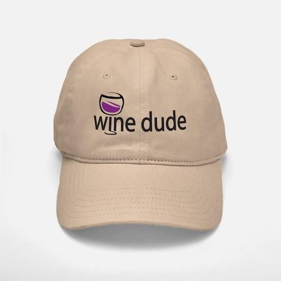 Wine Man Baseball Baseball Cap