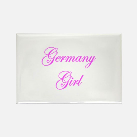 Germany Girl Rectangle Magnet