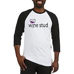 Wine Stud Baseball Jersey