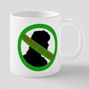 Xmas woman Mugs