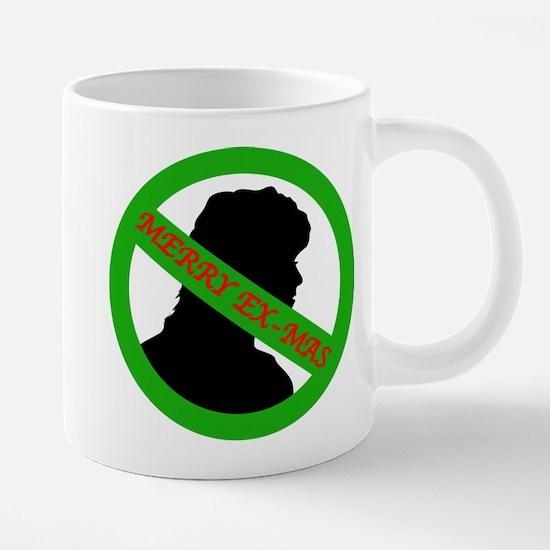 Xmas woman.jpg Mugs
