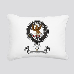 Badge - Abercrombie Rectangular Canvas Pillow