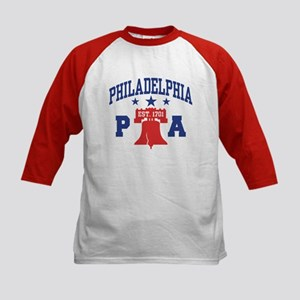 Philadelphia PA Kids Baseball Jersey