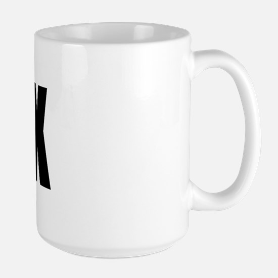 BMX -It's how I roll Large Mug