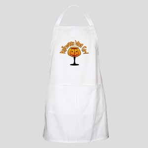 Halloween Wine Girl BBQ Apron