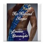 Her Highland Rogue Tile Coaster