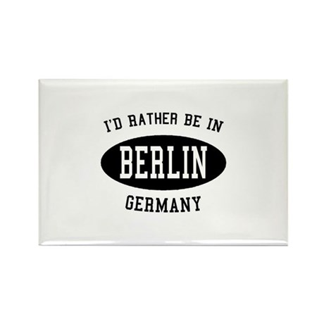 I'd Rather Be in Berlin, Germ Rectangle Magnet