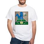 T-Rex Ping Pong White T-Shirt