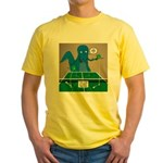 T-Rex Ping Pong Yellow T-Shirt