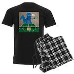 T-Rex Ping Pong Men's Dark Pajamas