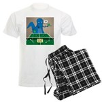 T-Rex Ping Pong Men's Light Pajamas