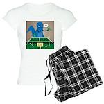 T-Rex Ping Pong Women's Light Pajamas