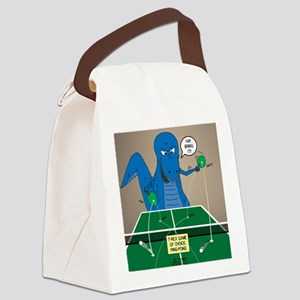 T-Rex Ping Pong Canvas Lunch Bag