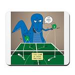T-Rex Ping Pong Mousepad