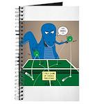T-Rex Ping Pong Journal