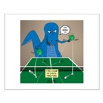 T-Rex Ping Pong Small Poster