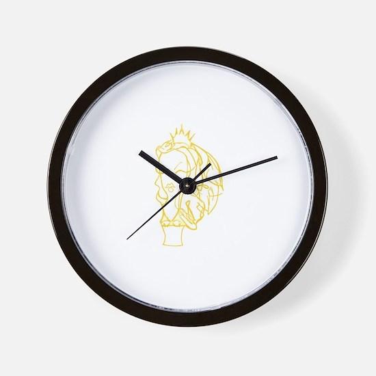 Cute Emily strange Wall Clock