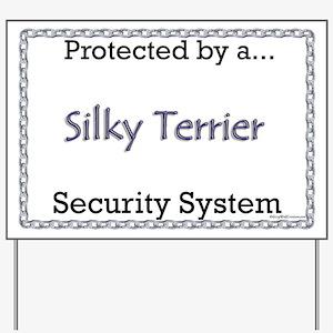 Silky Security  Yard Sign