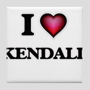 I love Kendall Tile Coaster