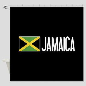 Jamaica: Jamaican Flag & Jamaica Shower Curtain