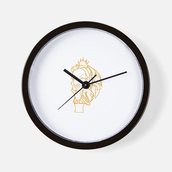 Emily strange Wall Clock
