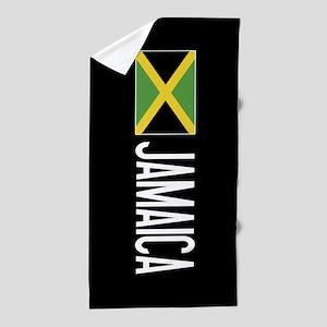 Jamaica: Jamaican Flag & Jamaica Beach Towel