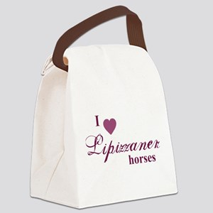 Lipizzaner horses Canvas Lunch Bag