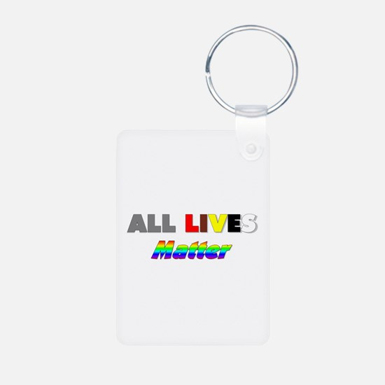 All Lives Matter #1 Keychains