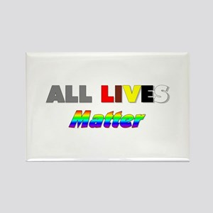 All Lives Matter #1 Rectangle Magnet