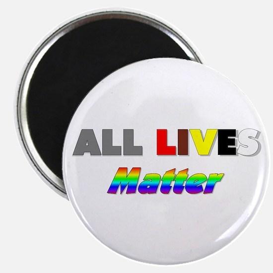 All Lives Matter #1 Magnet