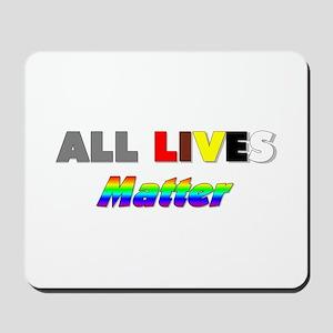 All Lives Matter #1 Mousepad