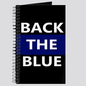 BACK THE BLUE Journal