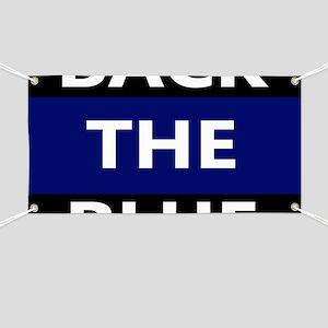 BACK THE BLUE Banner