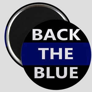 BACK THE BLUE Magnets