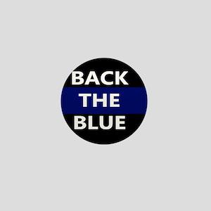 BACK THE BLUE Mini Button