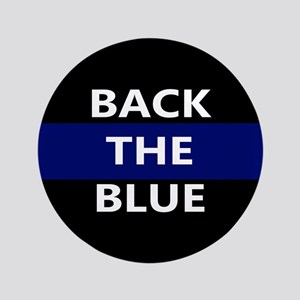 BACK THE BLUE Button