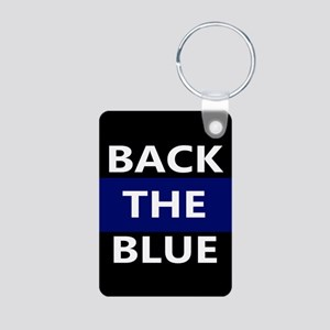BACK THE BLUE Keychains