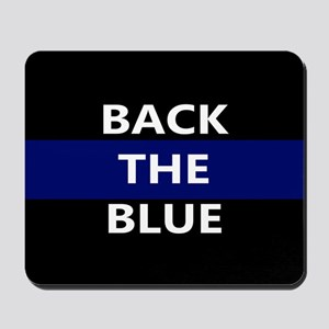 BACK THE BLUE Mousepad
