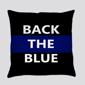 BACK THE BLUE Everyday Pillow