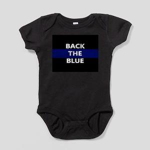 BACK THE BLUE Baby Bodysuit