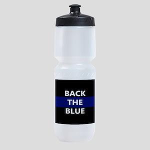 BACK THE BLUE Sports Bottle