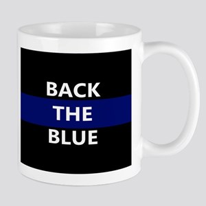 BACK THE BLUE Mugs