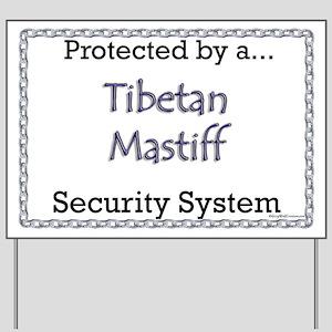 Tibetan Security  Yard Sign