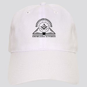 Knowledge is powers-Modern Geometric Design Cap