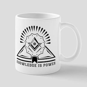 Knowledge is powers-Modern Geometric Design Mugs