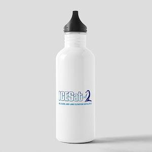 ICESat-2 Logo Stainless Water Bottle 1.0L