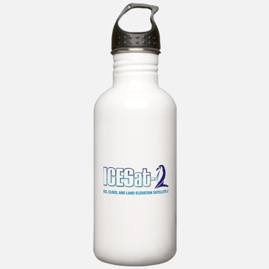 ICESat-2 Logo Water Bottle