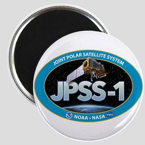 JPSS-1 Logo Magnet